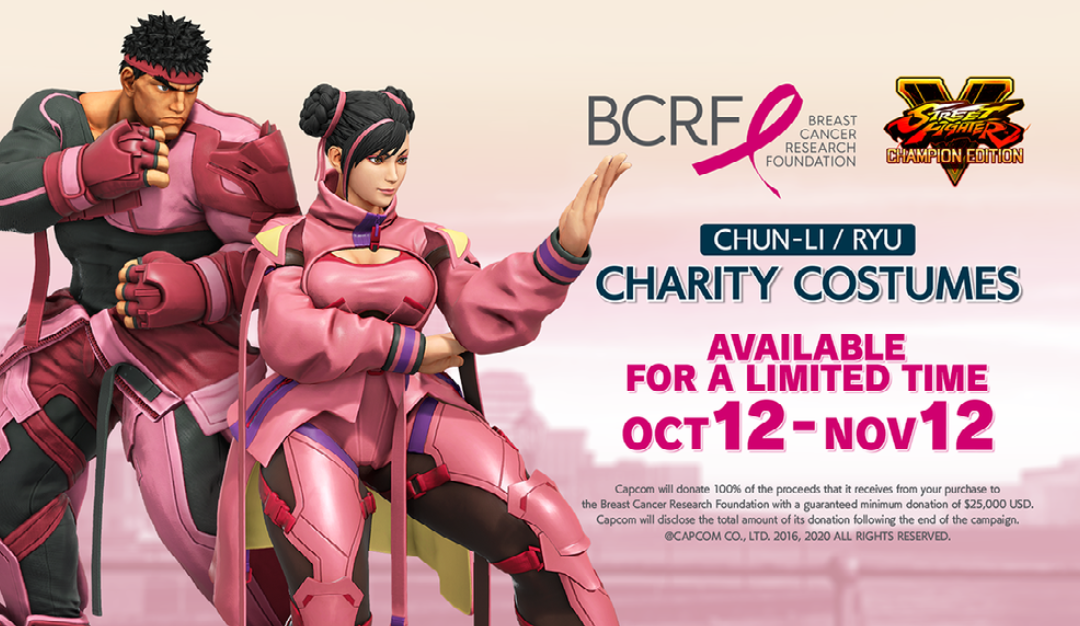 BCRF and Capcom Join Forces to Fuel Lifesaving Breast Cancer Research
