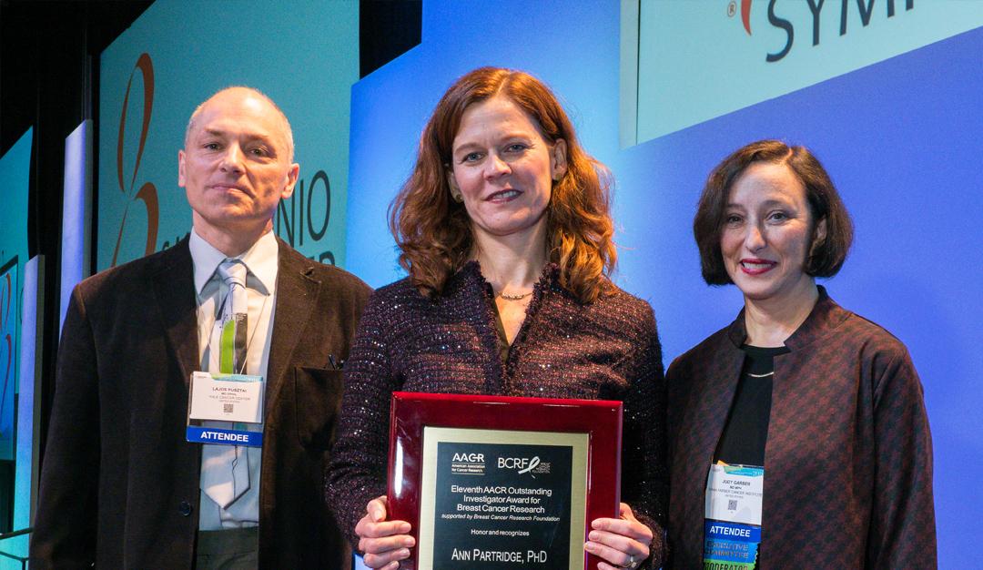 BCRF Investigators Honored at the 2018 San Antonio Breast Cancer Symposium