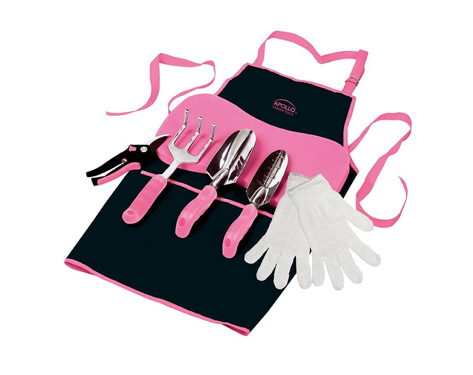 Apollo Tools x BCRF Shop Pink Gardener Toolkit