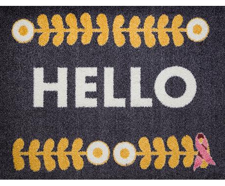 Carpet One x BCRF Scandinavian Welcome Mat Collection
