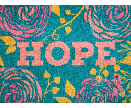 Carpet One x BCRF Signature Hope Welcome Mat