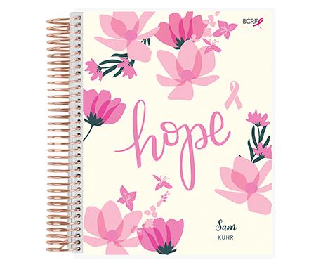 EC x BCRF Shop Pink Coiled Notebook