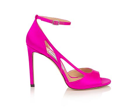 Jimmy Choo x BCRF Shop Pink Liu 100 Sandal