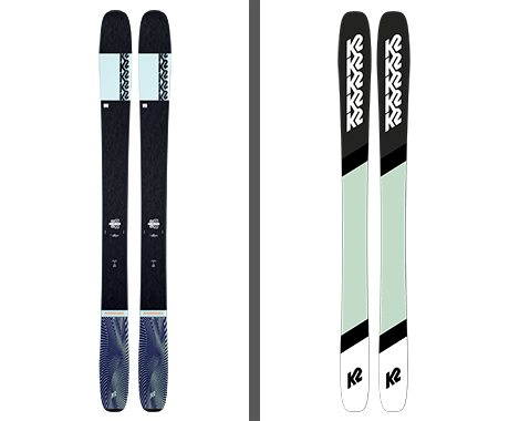 K2 Ski x BCRF Shop Pink Mindbender Ski