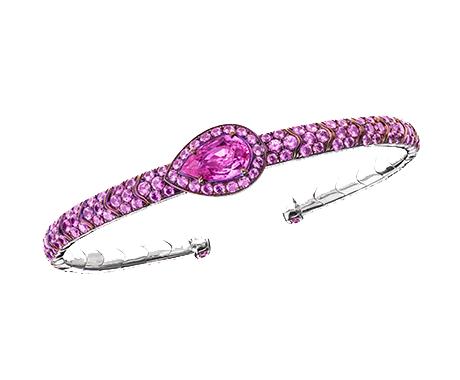 Sabbadini x BCRF Pink Sapphire Bracelet