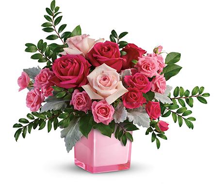 Teleflora x BCRF Pink Power Bouquet