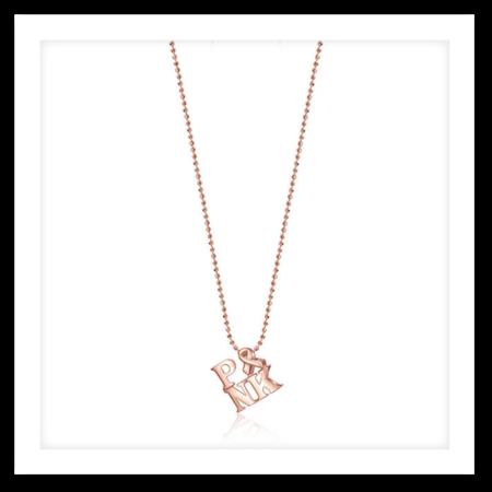 Alex Woo Pink Necklace